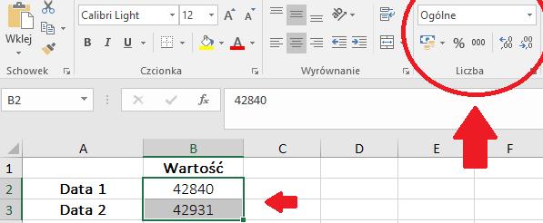 Czas w Microsoft Excel – poprawnie wpisana data