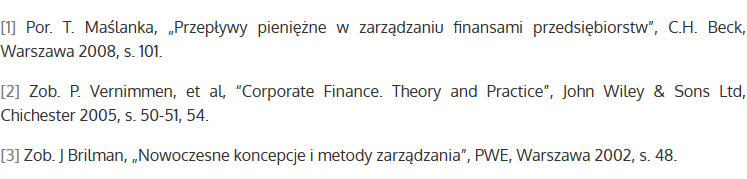 Kapitał zaangażowany - źródła
