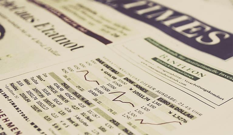 gazeta - obraz stockowy