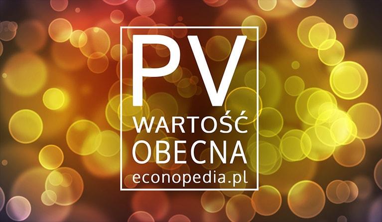 PV (wartość obecna) -obrazek wyróżniający
