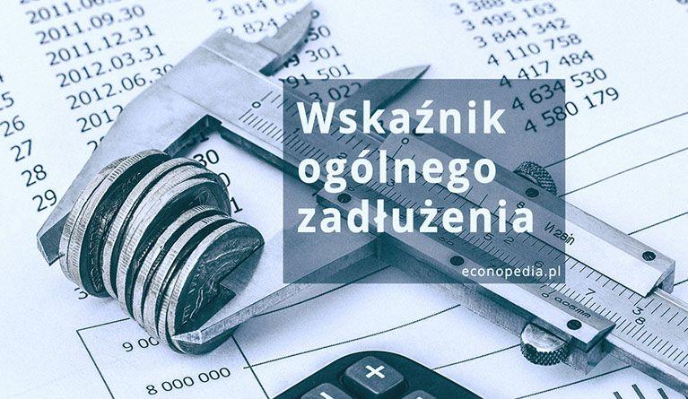 Obrazek wyróżniający do artykułu – wskaźnik ogólnego zadłużenia